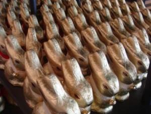 Lindt chocolate bunnies