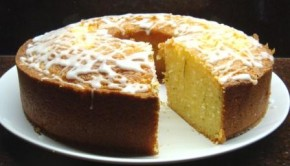 Lime drizzle cake