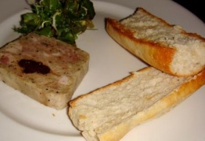 Rabbit rillette at La Grande Bouffe