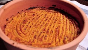 Cottage pie with sweet potato mash