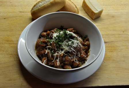 An image of Chorizo and bean stew
