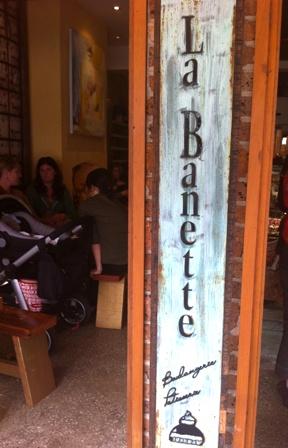 An image of La Banette bakery, Sydney