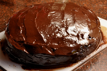 An image of chocolate mudcake