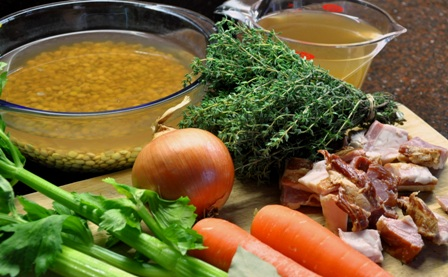 An image of soup ingredients