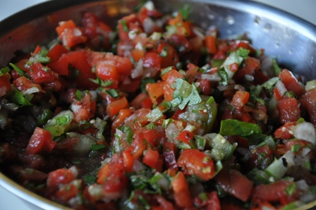 An image of salsa