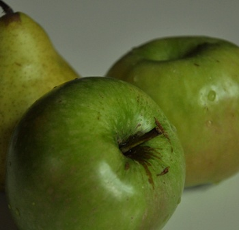 An image of Granny smiths' for Normandy apple tart