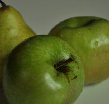 Granny smiths' for Normandy apple tart