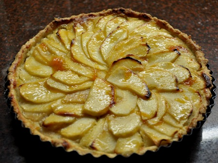 AN image of Normandy apple tart