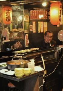 An image of a Japanese Yakitori bar