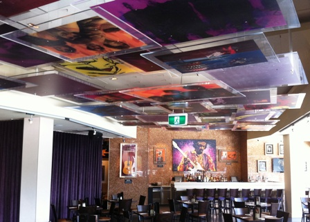 An image of Hard Rock Cafe Sydney decor