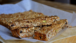 high energy environmentally friendly muesli slice