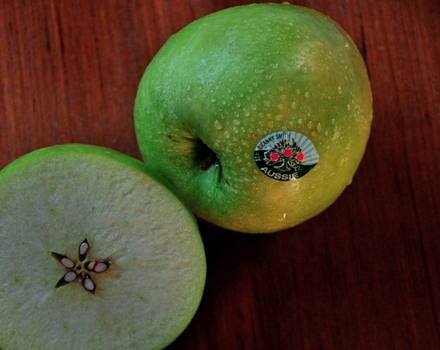 An image of australian grown granny smith apples