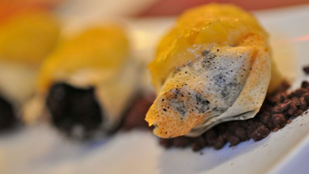An image of blood sausage cannelloni at Magnolia