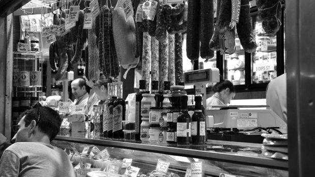 Deli store in Melbourne's Vic Markets