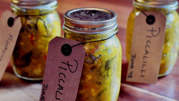 3 Jars of piccalilli