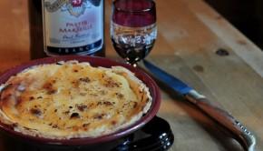 French custard tart - Tarte au flan