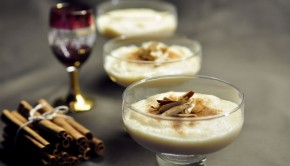 Moroccan almond cream pudding