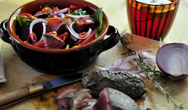 Kangeroo iron detox salad