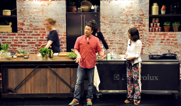 Jamie Oliver talks Ministry of Food and eating better
