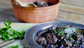 Feijoada - Brazilian pork and black bean stew