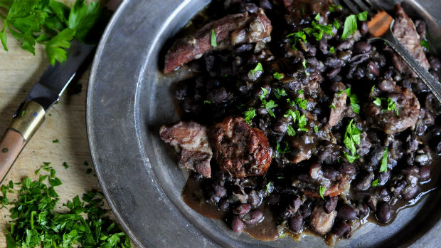 Feijoada Pork and black bean stew