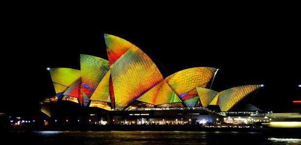 Vivid 2014 - Sydney Opera House 1