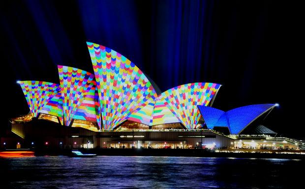 Vivid 2014 - Sydney Opera House 2