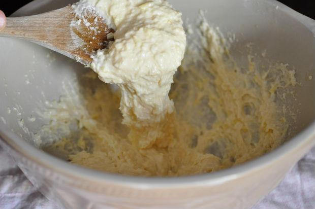 Brasilian cheese bread batter - pão de queijo