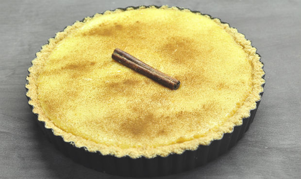 South African Melktert - milk tart