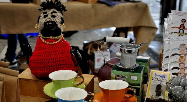 Tea cosy at Sydney Tea Festival