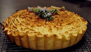 Smoked fish pie with potato top