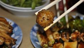 Yakitori meatballs