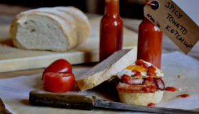 spicy smoky tomato ketchup