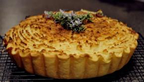 Smoked fish pie with potato top
