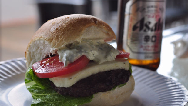 Greek burger - step 6